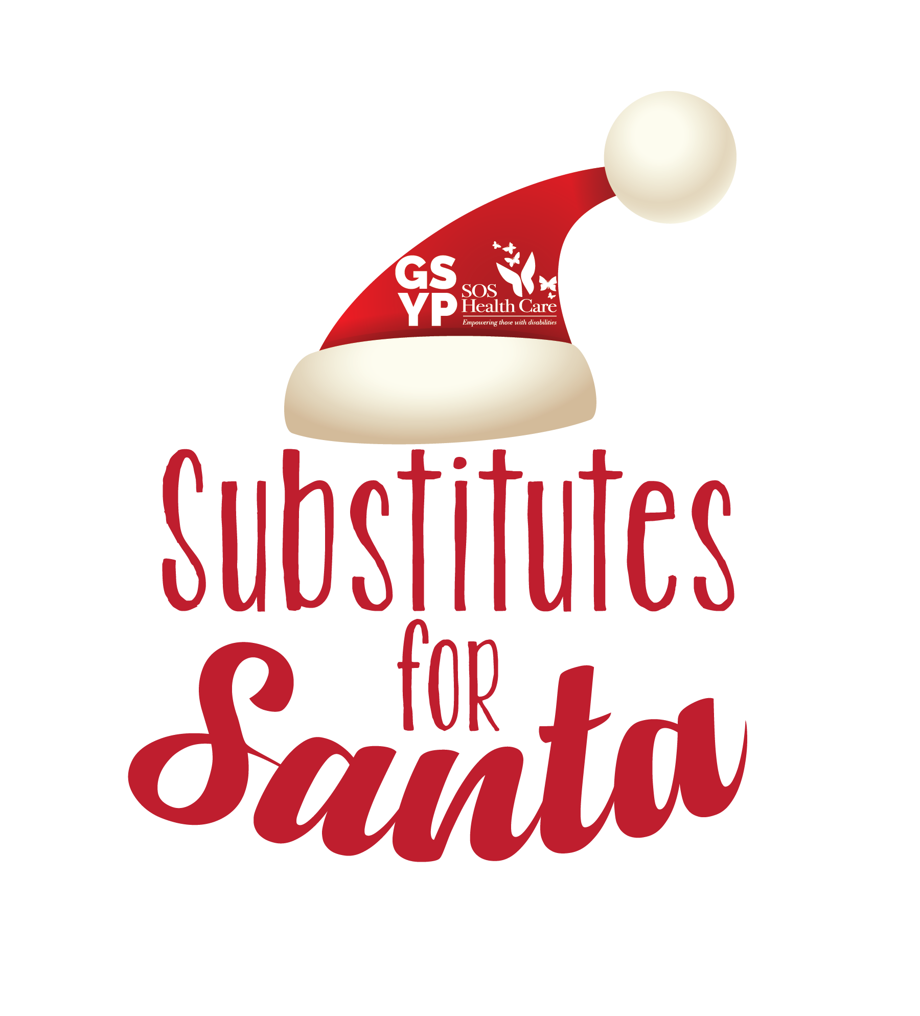 Logo for GSYP Substitutes for Santa