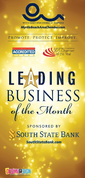 Leading Business of the Month Banner
